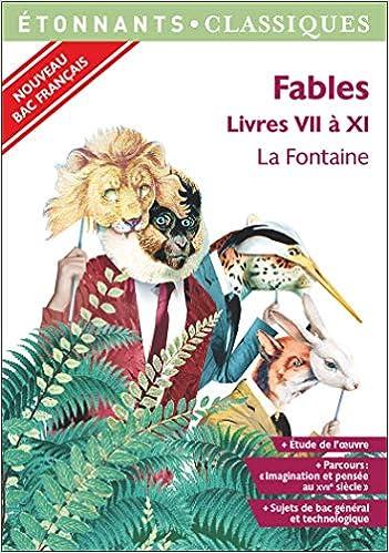 Amazoncom Fables Livres Vii à Xi Poésie French Edition