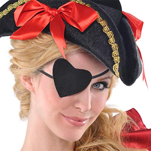 (Pirate Heart Eye Patch | 12 Ct.)