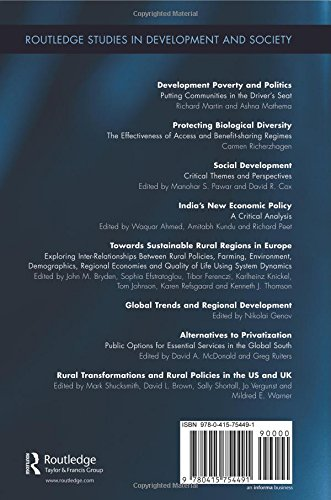 Global Trends and Regional Development (Routledge Studies in Development and Society)