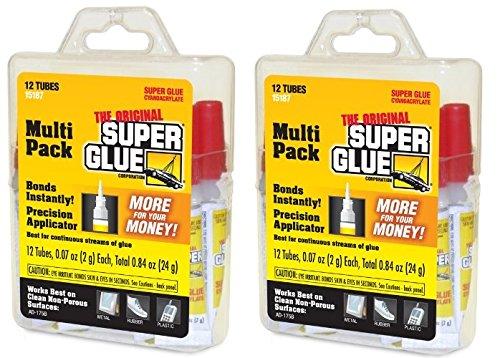 Super Glue 15187 Super Glue rlyeQF, 2Pack (12 - Super Glue 2 Pack
