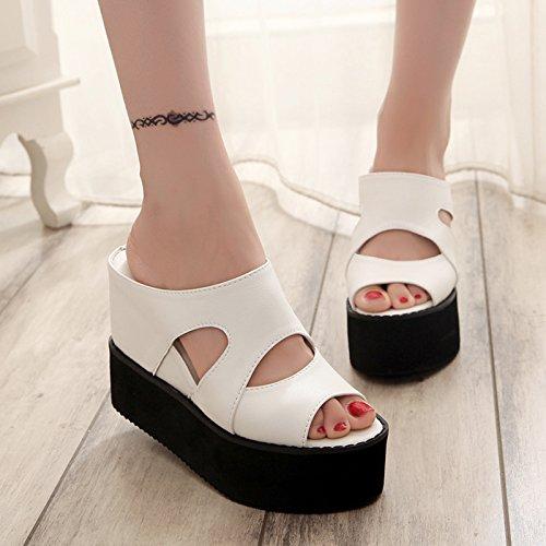 pantofole Bianco Spesso e Qingchunhuangtang asolati fredda acqua znnxS