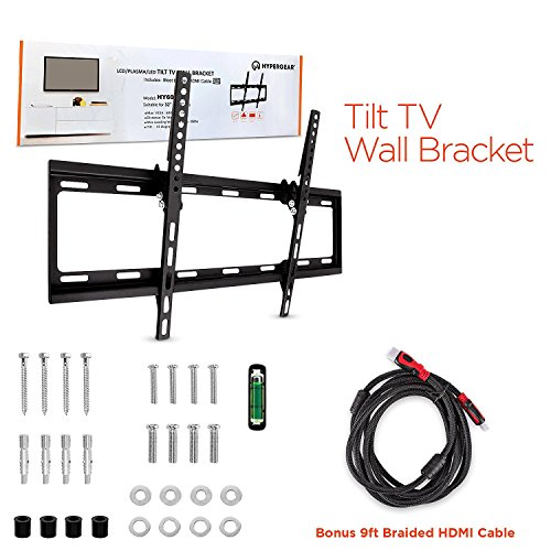 Hyper Gear TV Wall Mount with HDMI Cable ()