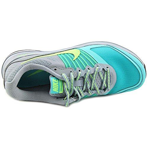 Nike Dual Fusion X - Zapatillas de running para mujer dove grey flash lime white 004