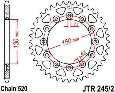 JT pignoni JTR245//2.47/Rear Sprocket