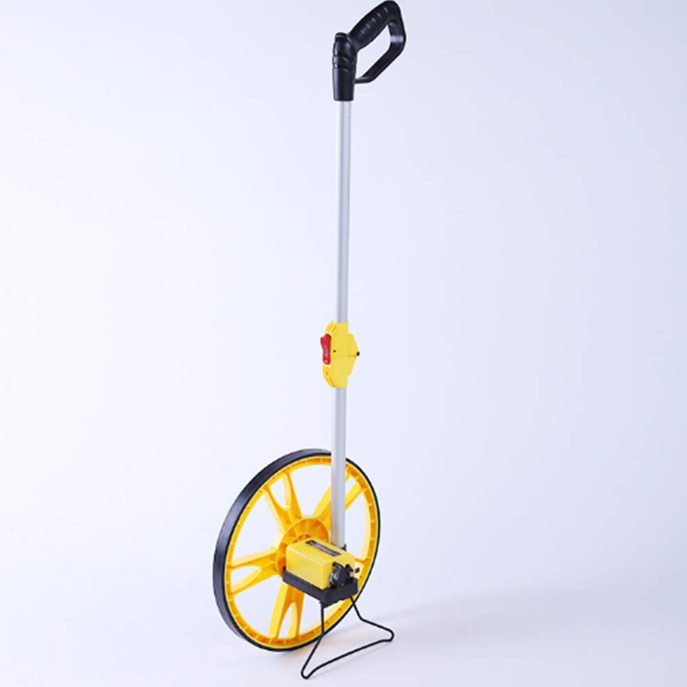 Collapsible Measuring Wheel,Distance Measuring Wheel,Measures Up To 10,000 Feet Perfect surveying Tool For Distance Measurment
