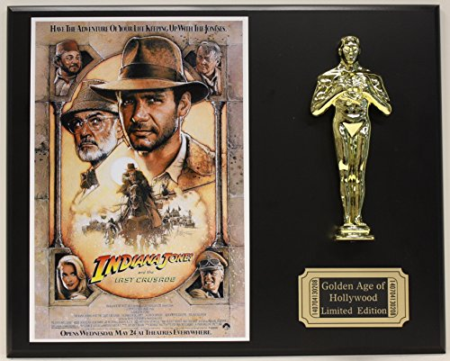 Harrison Ford  Indiana Jones  Limited Edition Oscar Movie Poster Display