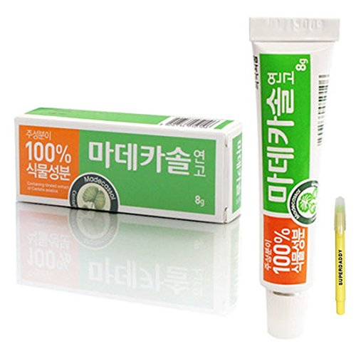 Price comparison product image Dongguk Pharm Madecassol Care Wound Scar Ointment 8g (Pack of 2)