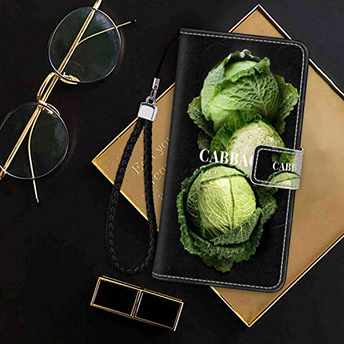 Wallet Case for Apple iPhone 7 (2016)/iPhone 8 (2017) 4.7-Inch Cabbage ID Holder