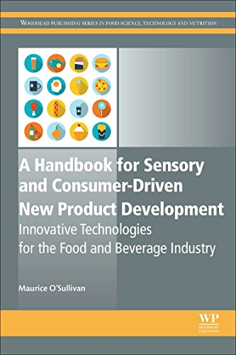 A Handbook for Sensory and Consumer-Driven New Product Development: Innovative Technologies for the Food and Beverage Industry (Woodhead Publishing Series in Food Science, Technology and Nutrition) ()