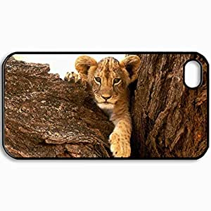 Customized Cellphone Case Back Cover For iPhone 4 4S, Protective Hardshell Case Personalized Design Design Picture Design Black