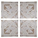 Arabesque Wall Panels 17.5''x17.5'' Set Of 4