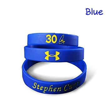 934f205e4daff NBA Basketball Stephen Curry Bracelet Silicone Sport Wristband Fans ...