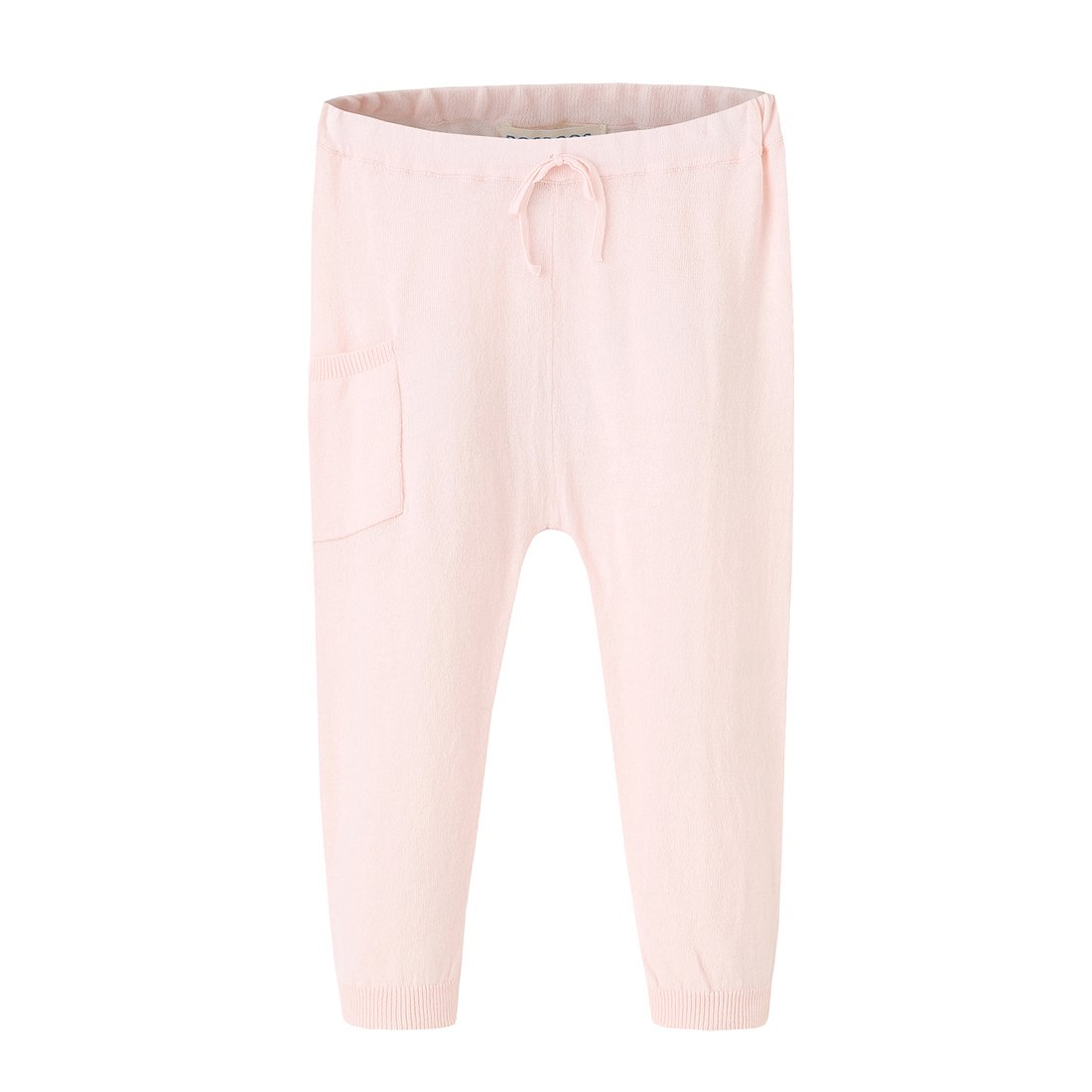 BOSBOOS Baby Toddler Boys Girls Cotton Solid Thin Pants for Summer (24M, Pink)