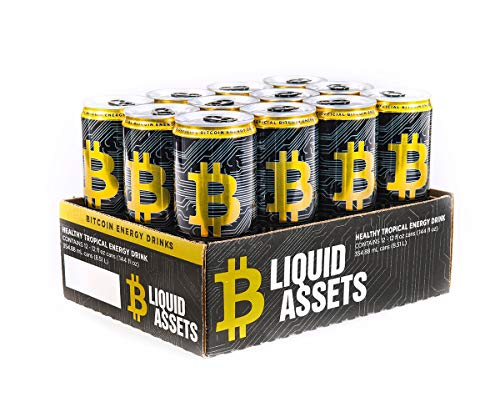 Codes Nba Jam - Bitcoin Energy Drink Healthy Energy 12/12oz Cans Liquid Assets Tropical Citrus - BTC Energy for Those Who Hustle (12 Pack)
