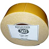"""Double-sided Carpet Tape, 2"""" by 36 Yards, by Reflection 503"""
