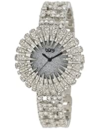Burgi Women's BU54SS Dazzling Crystal Quartz Watch