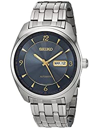 Seiko Men's SNKP01 Analog Display Japanese Automatic Silver Watch