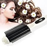 Hair Straightener Comb, BlueTop Professional 3-in-1 Hair Straightener Brush Anti Scald Zero Damage New Styler Tools Message Straightening Irons detangling Hair Brush