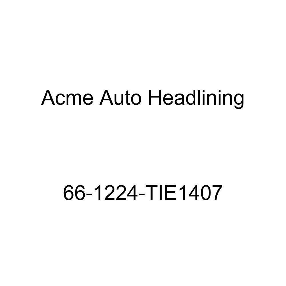 Oldsmobile Cutlass /& F85 4 Door Hardtop 6 Bow Acme Auto Headlining 66-1224-TIE1407 Dark Brown Replacement Headliner