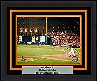 """Baltimore Cal Ripken, Jr. 2131st Game 8"""" x 10"""" Baseball Framed and Matted Photo"""