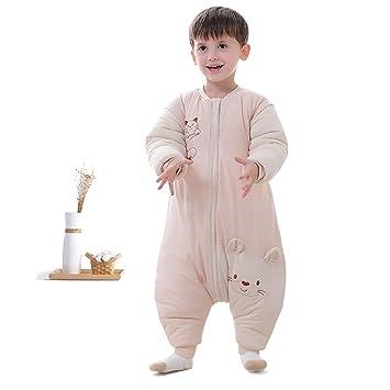 WWSZ Bebé Saco de Dormir, Unisex Mono Saco de Dormir para Bebés Niños Niñas con