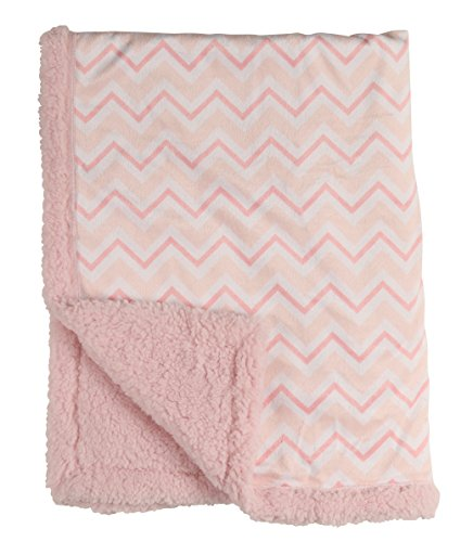 cudlie-double-sided-mink-infant-blanket-and-sherpa-backing-pink-chevron
