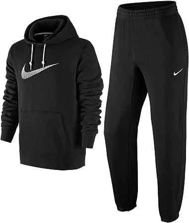 Nike Negro De Hombre 679387 Chándal Completo - Negro, Small: Amazon.es: Deportes y aire libre