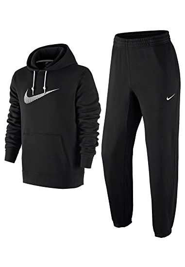 50e83970d0 Nike Mens Tracksuit Fleece Hooded top Bottom Joggers S M L XL ...