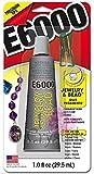 E6000 Jewelry & Bead 1oz w/tips Adhesive Permanent Glue Rhinestone Crystal Clear