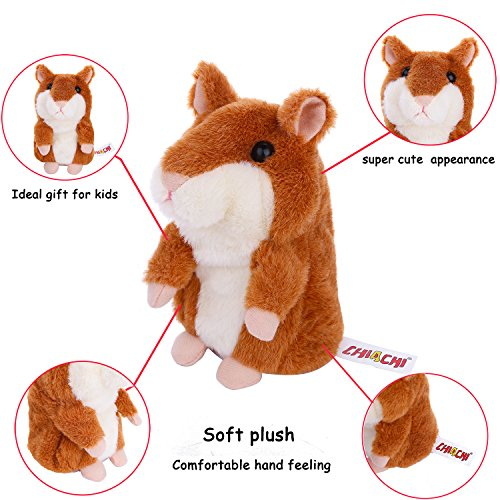 The Original Talking Hamster -Plush Interactive Toys Mimicry Pet Repeats What You Say