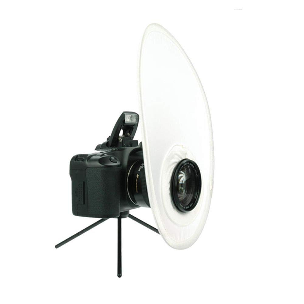Falt Diffusor Blitz Softbox DynaSun RE2011 30cm Faltreflektor f/ür Kamerablitz