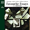 Favorite Essays Audiobook by Michel de Montaigne, Jonathan Swift, Thomas Carlyle, Joseph Addison, Samuel Johnson Narrated by Neville Jason