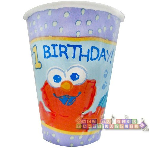 Sesame Street Beginnings Cups - 8 Count (9 - Cups Beginnings Sesame Street