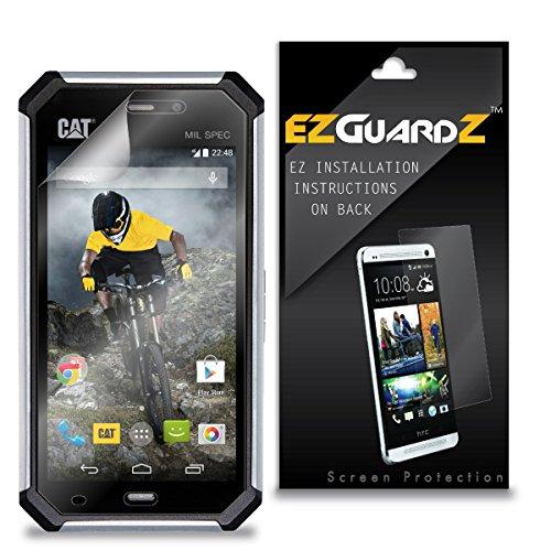 (6-Pack) EZGuardZ Screen Protector for Caterpillar CAT S50 (Ultra Clear) (Caterpillar Cat S50)