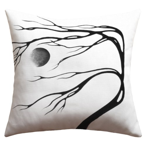 Deny Designs Madart Inc. Modern Dance Moon Song Outdoor Throw Pillow, 26 x 26 by Deny Designs