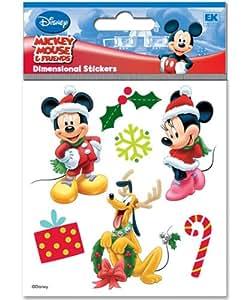 Amazon.com: Sticko Disney Dimensional Sticker, Mickey and ...