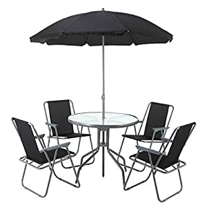 Amazon Com Palm Springs Outdoor Compact Patio Dining Set