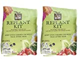 Earthbox Pack of 2 Replant Kit Bundled by Maven Gifts