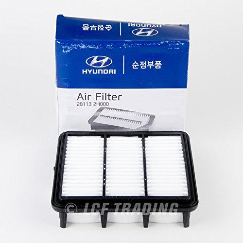 2007 Hyundai Elantra Air - Genuine Hyundai (28113-2H000) Air Filter