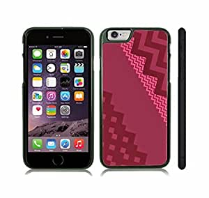 Case Cover For SamSung Galaxy Note 2 with Chevron Pattern Red Wine/ Pink Stripe Snap-on Cover, Hard Carrying Case (Black)