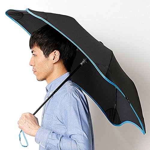 ブラント(BLUNT) 【空気力学による風に強い構造6色展開】ユニセックス長傘(メンズ/レディース雨傘) B072K79RPF 51|73スカイブル 73スカイブル 51