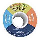 Mandala Crafts Double Fold Bias Tape for