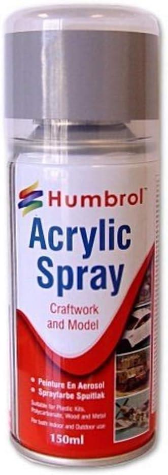 Humbrol - Pintura Spray Silver (Hornby AD6011)