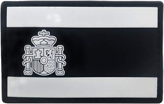 SimpleMfD Parche bordado con insignia de bandera de Espa/ña para ropa o mochila