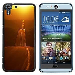 - gold road freedom open highway - - Modelo de la piel protectora de la cubierta del caso FOR HTC Desire EYE M910x RetroCandy