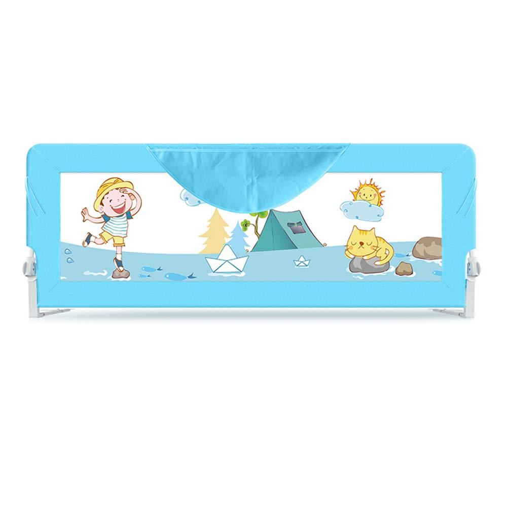 XIAOMEI,安全フェンス 68CM子供用ベッドガードレール、折り畳み可能な赤ちゃんアンチ倒れベッドベゼル - 150cm、200cm ベッドの手すり (サイズ さいず : 200cm) 200cm  B07L8QWQ3Q