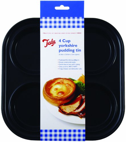Tala Yorkshire Pudding Tin, Black