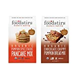 Organic Pumpkin Spice Pancake Mix and Organic Pumpkin Bread Mix by Foodstirs. The Best DIY Organic Baking Kits.