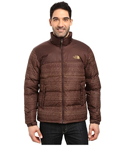 - The North Face Men's Nuptse Jacket Coffee Bean Brown Twitch Print/Coffee Bean Brown (Prior Season) X-Large