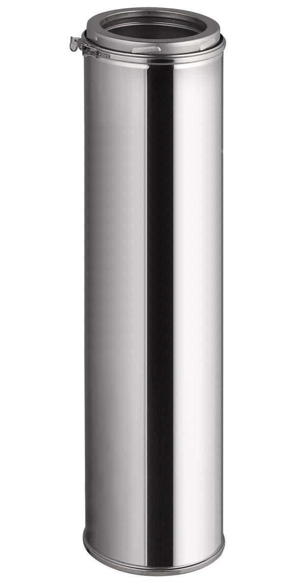 /Ø 150mm, 500mm Doppelwandiges Schornsteinrohr in allen L/ängen und Durchmessern Edelstahl Schornsteinverl/ängerung
